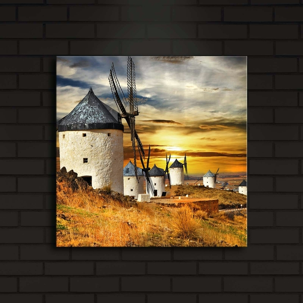 4040?ACT-6 Multicolor Decorative Led Lighted Canvas Painting