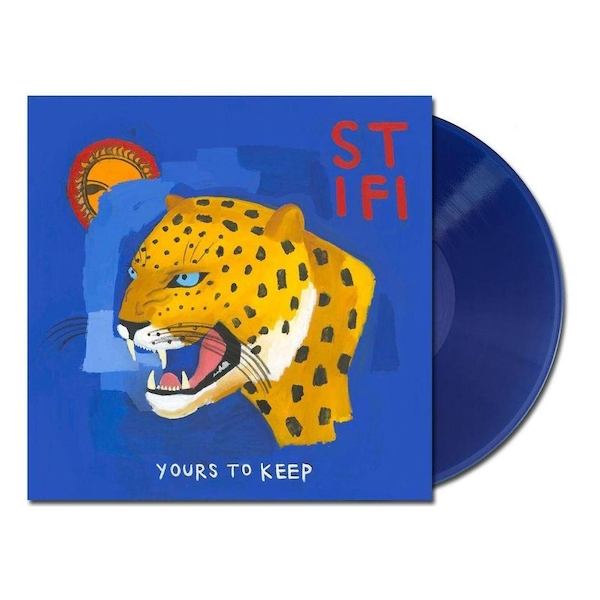 Sticky Fingers - Yours To Keep Transparent Blue Vinyl