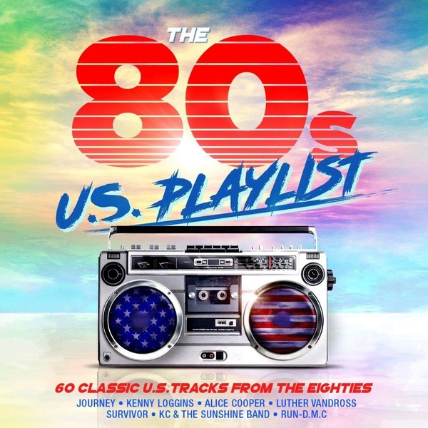The 80s U.S Playlist CD