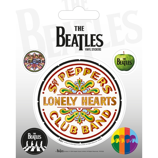 The Beatles - Sgt. Pepper Vinyl Sticker