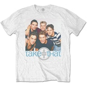 Take That - Group Hug Men's Small T-Shirt - White