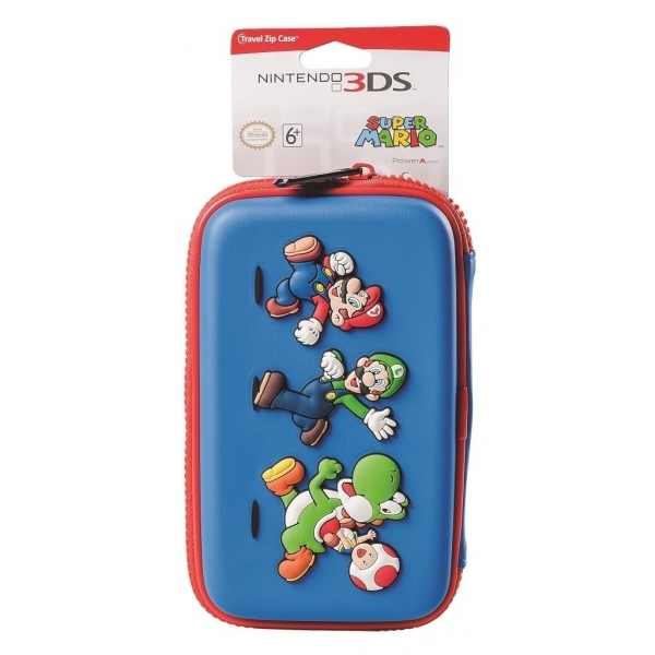 Super Mario Universal Travel Zip Case 3DS XL/3DS/DSi XL ...