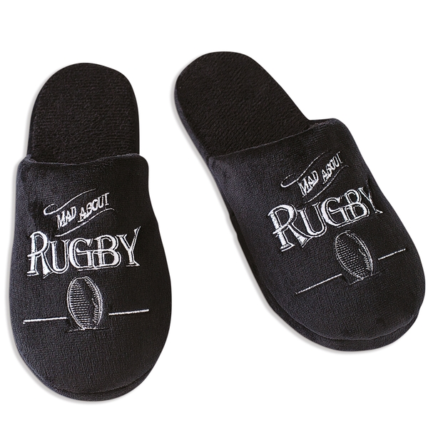 Ultimate Gift for Man Slippers Large UK Size 11-12 Rugby