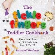 The Tickle Fingers Toddler Cookbook: Hands-on Fun in the Kitchen for 1 to 4s by Annabel Woolmer (Hardback, 2016)