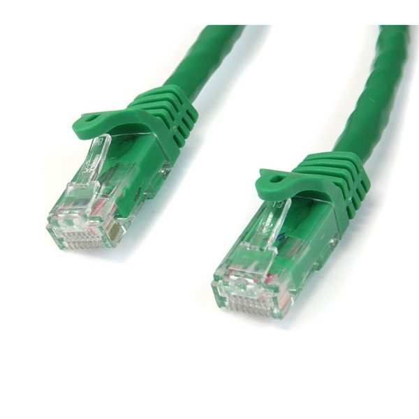 15 ft Green Snagless Cat6 UTP Patch Cable - ETL Verified