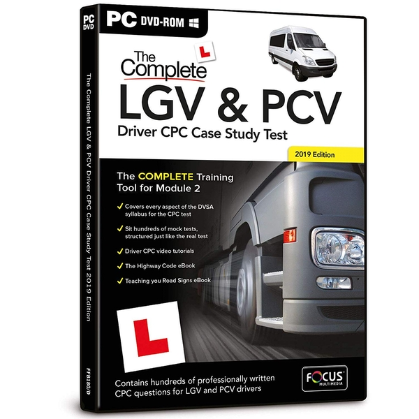 The Complete LGV and PVC Driver Study Test 2019 PC