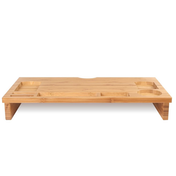 Bamboo Monitor Stand | M&W 1 Tier