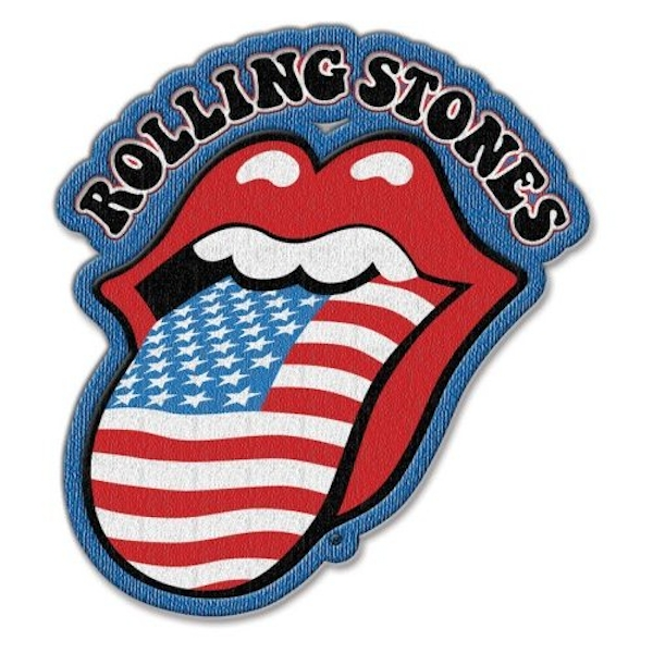 The Rolling Stones - US Tongue Standard Patch