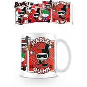 Justice League Harley Quinn Comic Chibi Mug
