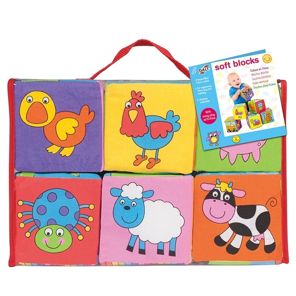 Galt Toys - Baby Soft Blocks