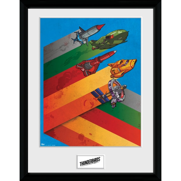 Thunderbirds are go Hazard Ships Collector Print