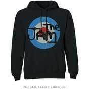 The Jam Target Logo Pullover Hoodie Black: Large