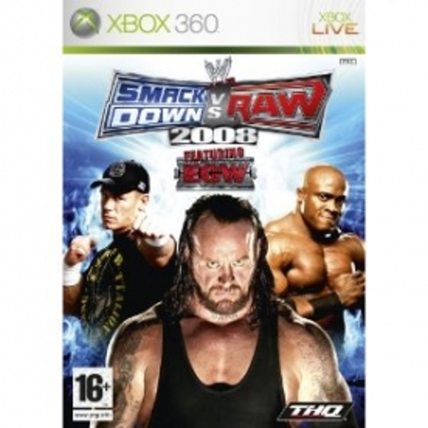 WWE Smackdown vs Raw 2008 Game Xbox 360
