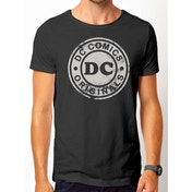 DC Originals - Vintage Logo Men's Small T-Shirt - Black