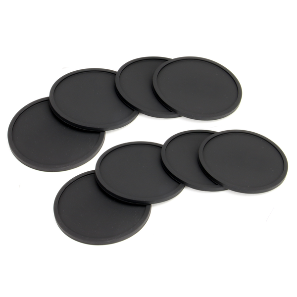 Set of 8 Silicone Drinks Coasters | M&W