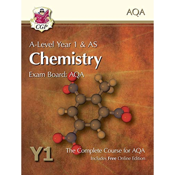 New A-Level Chemistry for AQA: Year 1 & AS Student Book with Online Edition: Exam Board: AQA by CGP Books (Paperback, 2015)