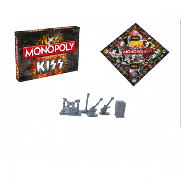 Ex-Display KISS Monopoly Used - Like New - Image 5