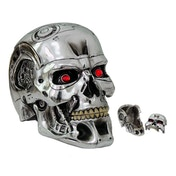 Terminator 2 Judgment Day T-800 Head Keepsake Storage Box