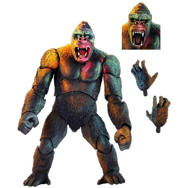 King Kong Illustrated Neca Action Figure