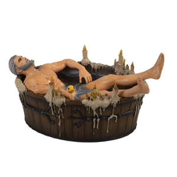 Geralt In The Bath Statue (The Witcher 3) Figure