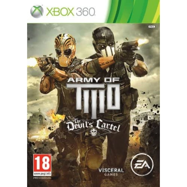 Army of Two The Devils Cartel Game Xbox 360 - Image 1