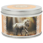Glimpse of a Unicorn Candle By Anne Stokes