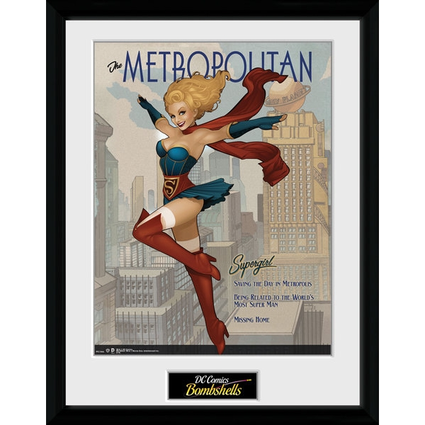 DC Comics Supergirl Bombshells Collector Print