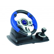 Blue Steering Wheel and Pedals (PC/PS2/PS3)