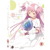 Puella Magi Madoka Magica The Movie: Part 1 and Part 2 - Beginnings/Eternal Blu-ray