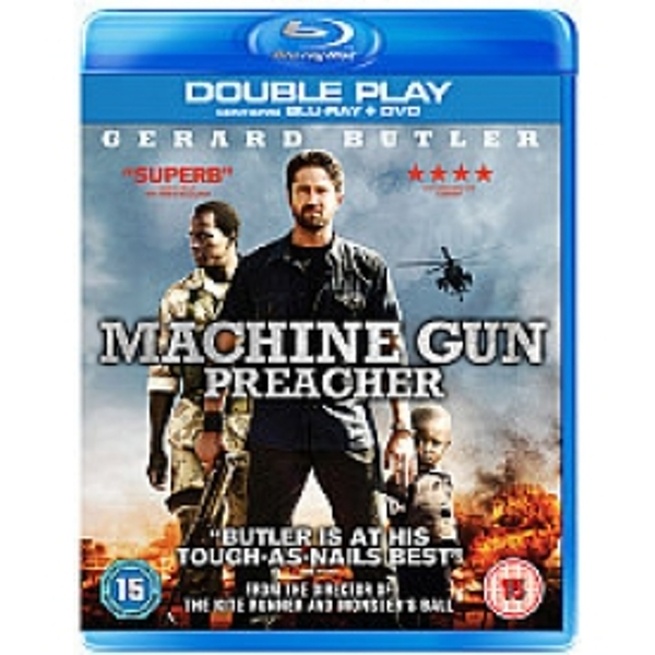 Machine Gun Preacher Blu-ray & DVD