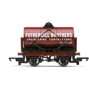 Hornby Fothergill Brothers Tank Wagon Red Model