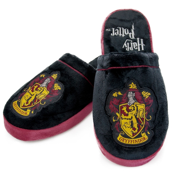 Harry Potter Gryffindor Adult Mule Slippers UK Size 8-10