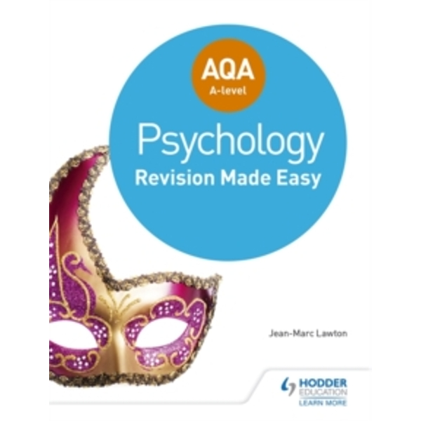 AQA A-level Psychology: Revision Made Easy by Jean-Marc Lawton (Paperback, 2017)
