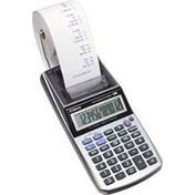 Canon P1-DTSC HWB Desktop Financial Metallic, Silver calculator