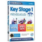 BRAINtastic 5 Title Value Bundle (Maths/Word Skills/Reading Success OneTwo and Three) for Ages 5 to 7 (Key Stage 1)