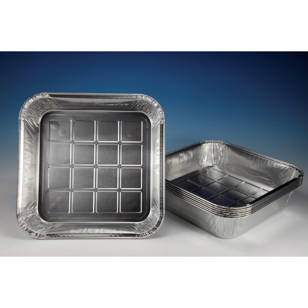 Caroline Square Foil Tray 4 Pack