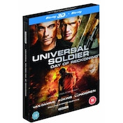 Universal Soldier Day Of Reckoning Steelbook 3D Blu-ray