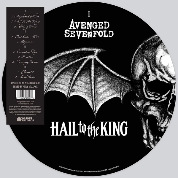 Avenged Sevenfold - Hail To The King Picture Disc Vinyl