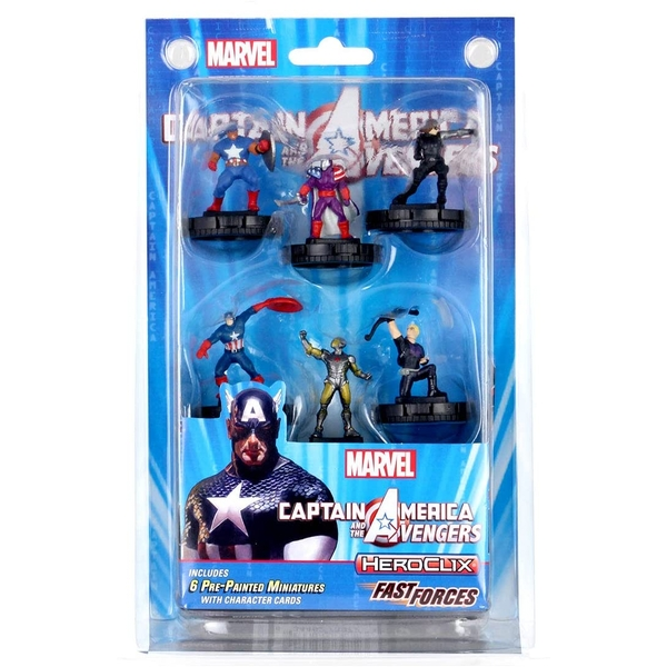 HeroClix Marvel's Captain America and the Avengers - Fast Forces