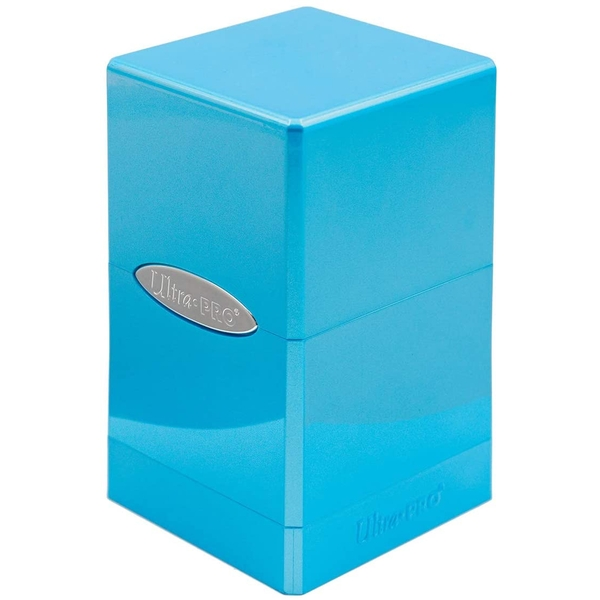 Ultra Pro Hi-gloss Satin Tower Deck Box - Topaz