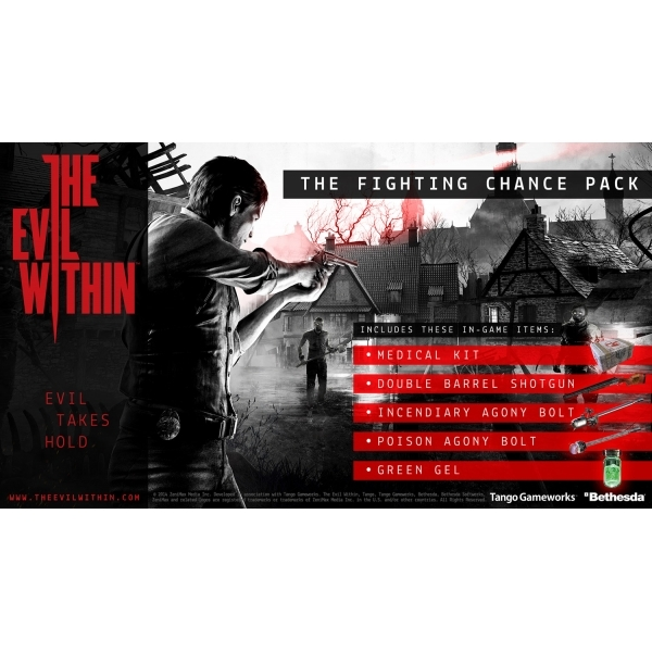 The Evil Within Game Xbox 360 (with The Fighting Chance DLC Pack) - Image 7