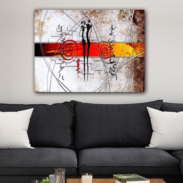 1114209266_70100 Multicolor Decorative Canvas Painting Abstract