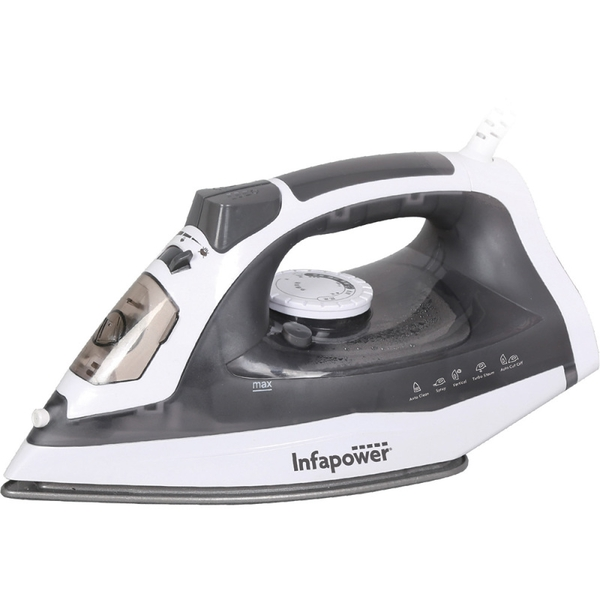 Infapower X602 Premium Steam Iron 2400W UK Plug