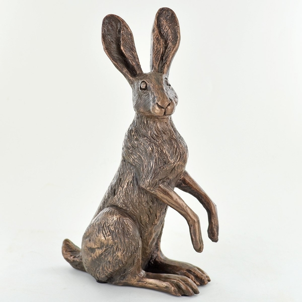 Poppy Standing Hare by Harriet Glen Sculpture
