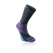 Bridgedale Woolfusion Trekker Women's Medium Socks (Black/Purple)