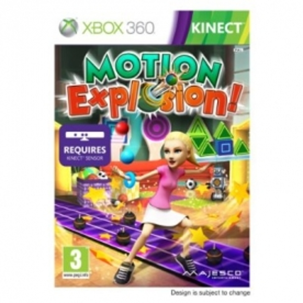 Kinect Motion Explosion Game Xbox 360