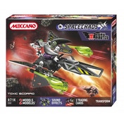 Meccano Space Chaos Toxic Scorpio Dark Pirates