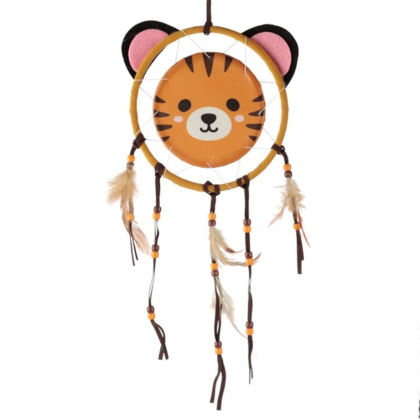 Fun Tiger Design Dreamcatcher