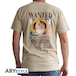 One Piece - Wanted Luffy Men's Small T-Shirt - Beige - Image 2