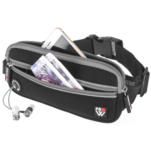 Proworks Running Belt- Black/Grey - Image 1